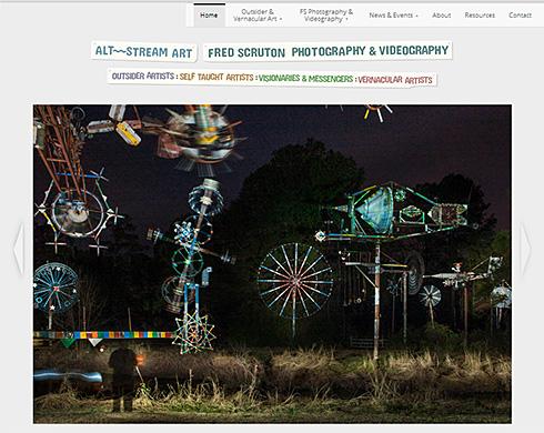 Alt-Stream Art website screenshot